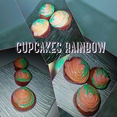 cupcakes rainbow vanille