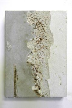 Marlies Hoevers- San Francisco ( x ) Art Concret, Concrete Art, Encaustic Painting, Painting & Drawing, Wax Art, Action Painting, White Art, Mixed Media Art, Ceramic Art
