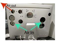 iMac cooling