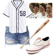 HALLOWEEN IS COMING!!! -Baseball player by asauceda-1 on Polyvore featuring polyvore fashion style