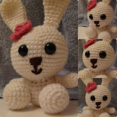 Snowball Bunny Free Pattern from All About Ami!
