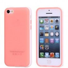 Funda iPhone 5C - Gel Rosa Blanco  AR$ 38,76