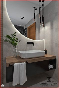 Washroom Design, Toilet Design, Bathroom Design Luxury, Modern Bathroom Design, Modern Bathroom Mirrors, Best Bathroom Lighting, Mirror Bathroom, Home Room Design, Home Interior Design