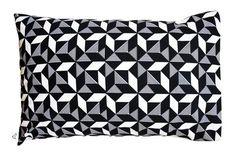 Geometric Monochrome Pillowcase Scatter Cushions, Throw Pillows, Penguin, Monochrome, Pillow Cases, Decor, Toss Pillows, Decoration, Small Cushions