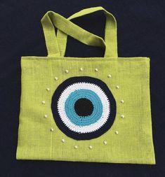 Burlap, Reusable Tote Bags, Knitting, Accessories, Fashion, Coin Purses, Moda, Hessian Fabric, Tricot