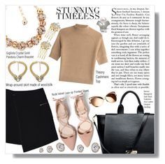 """""""Season Opener: La Mia Cara"""" by lamiacara ❤ liked on Polyvore featuring Theory and MARC CAIN"""