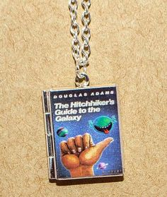 Hitchhiker's Guide to the Galaxy - Locket Necklace