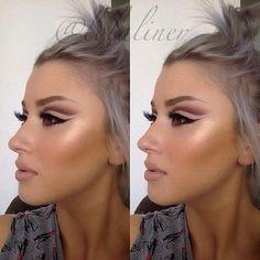 #contouringmakeup #eyemakeup  #nude #makeup