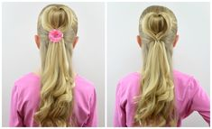 Half-Up 3D Heart Hairstyle | Valentine's Day | BabesInHairland.com