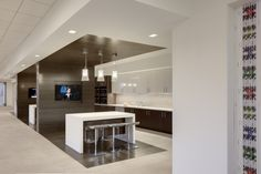 CoreLogic Headquarters | Break Area | Interior Design by H.Hendy Associates of Newport Beach, California