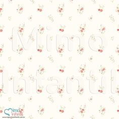 Papel de Paredes para decoração de quarto de bebê e infantil Bobinex Bambinos 3347, REF3347, flores, vermelho, branco | SP, BH, MG, RJ, DF