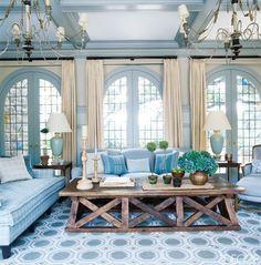 Sunroom In Bronxville - ELLEDecor.com