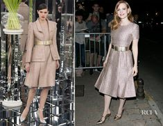 Jessica Chastain In Chanel Couture –  'Vanity Fair Chanel' Dinner