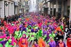 The Patras Carnival is the largest event of its kind in Greece and one of the biggest in Europe. Patras, World Travel Guide, Turu, Festivals Around The World, Winter Festival, Weekend Breaks, Social Events, Celebrities, Scavenger Hunts