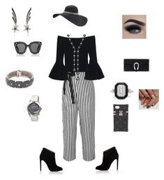 """""""funeral outfit"""" by bebejohnson on Polyvore featuring J.Crew, Alexis, Chloe Gosselin, Effy Jewelry, Bertha, Oui, Bernard Delettrez, Roberto Coin, Gucci and Louis Vuitton"""