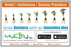 Grow Your Business With An Innovative Idea !! #promotion #mycityapp #localpromotions #media #earn #income #loyalty #loyaltyprogram #localbusiness #citybusiness  Android http://bit.do/mycityAppG Apple Store : http://bit.do/mycityApp