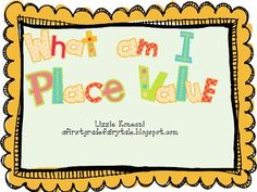 Here is a quick little game for you to use during place value.  I adapted this game from Debbie Diller's Math workstations book.  It goes great wit...