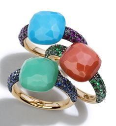 Capri rings by Pomellato