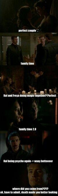 Season 3 Episode 15: Kol, Davina, Klaus, Freya, Elijah, Finn