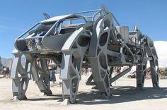"""The Walking Beast is a mechanical creature that walks on 8 legs."" #pinrepair"