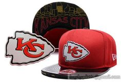NFL Kansas City Chiefs Snapback Hats Adjustable Caps 2015 NFL Draft 9FIFTY Original Fit 58