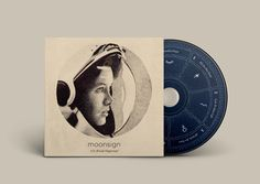 Moonsign - EP by Jasper Smith, via Behance. If you want to customize a good-looking CD packaging, visit www.unifiedmanufacturing.com.