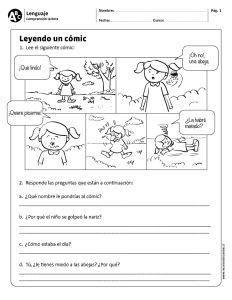 Leyendo un cómic