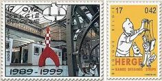 tin tin on stamps - Google Search
