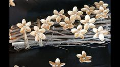 Blüten basteln aus Pistazienschalen – Basteln mit Naturmaterialien – DIY...