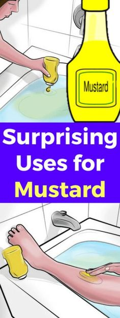 Surprising Uses For Mustard – Healthy Well It's likely you didn't realize your favorite sandwich condiment has a double life. Mustard is used not only for hotdogs, but for a host of other uses, from soothing sore throats to warding off cancer. Natural Health Tips, Natural Health Remedies, Natural Healing, Herbal Remedies, Natural Skin, Natural Beauty, Wellness Tips, Health And Wellness, Sooth Sore Throat