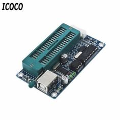 ICOCO 1Set Programmer PIC USB Automatic Programming Develop Microcontroller Programmer K150 ICSP Hotest #Affiliate