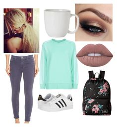 """Jessica"" by process-red on Polyvore featuring adidas Originals, J Brand, adidas, Juliska and Vans"