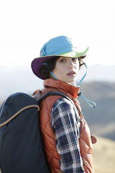 登山・ハイキングのファッション