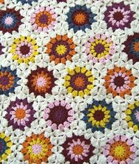 growing crochet blanket