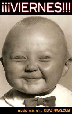 Buenos días Mundo!!! Hoy en tutemimas.com nos hemos levantado con esta sonrisilla de viernes!!!