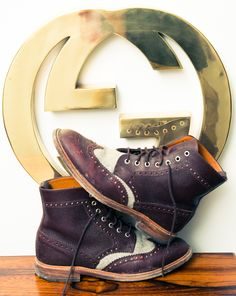 He might have a Gucci problem. http://www.thecoveteur.com/brendan-monaghan-t-magazine/