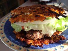 Grated Veg Burger Buns
