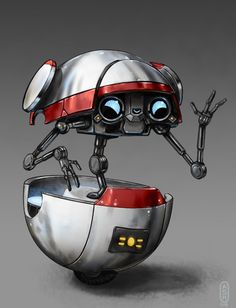 Gortys is a pretty cute robot.