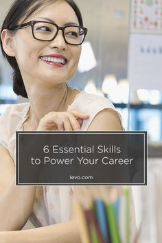 Essential #career skills www.levo.com