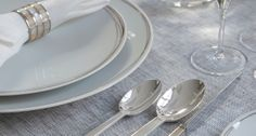 Tableware & Place Settings for Property, Yachts, Jets | Harlequin London
