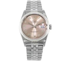 Rolex Datejust 18k White Gold & Stainless Steel Automatic Watch 16234 #porteropintowin