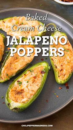 Buzzfeed Food Videos, Buzzfeed Tasty, Cream Cheese Jalapeno Poppers, Cheddar Cheese, Jalapeno Cream Cheeses, Stuffed Jalepeno Peppers, Baked Stuffed Jalapenos, Cream Cheese Stuffed Peppers, Snacks