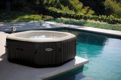 Whirlpool Intex Jet + Bubble Deluxe Kalkschutz +Salzwasser 28454