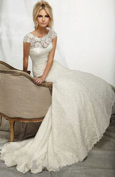 2014 New White/Ivory Bride wedding dress Bridal custom size 4-6-8-10-12-14-16-18