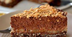Gâteau crousti-fondant chocolat-poire. Plein de fraîcheur et pas trop sucré ! . La recette par une aiguille dans l potage.
