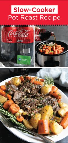 There's no better way to celebrate the holiday season and the cold winter months than with a big pot of this delicious and easy Slow Cooker Pot Roast! Made with Coca-Cola®, this rich and hearty dinner recipe makes the perfect holiday supper. Head to Sam's Club to stock up on all the ingredients you'll need for this dish today!