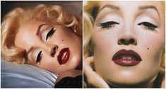 Lisa Marie Presley Legendary makeup artist Kevyn Aucoin made up Lisa Marie Presley as Marilyn for his 1997 book Making Faces. He was such a master at the art of makeup that the photos are still mistaken for actually being Marilyn