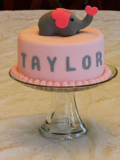 The Crafty Mom : Pink Elephant 1st Birthday Party Theme. DIY