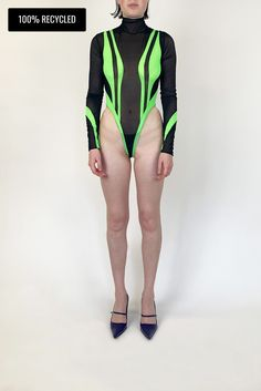 Poison Ivy Bodysuit - M