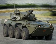Centauro 2 8×8 armoured wheeled anti-tank vehicle